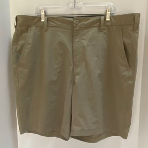 Croft & Barrow sz 42 shorts polyester spandex tan